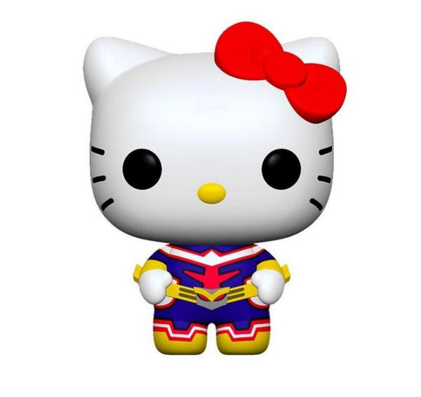 POP! Animation: Sanrio x My Hero Academia Hello Kitty as All Might - Kryptonite Character Store