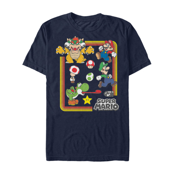 Nintendo  Nintendo Super Mario Collection Navy Shirt