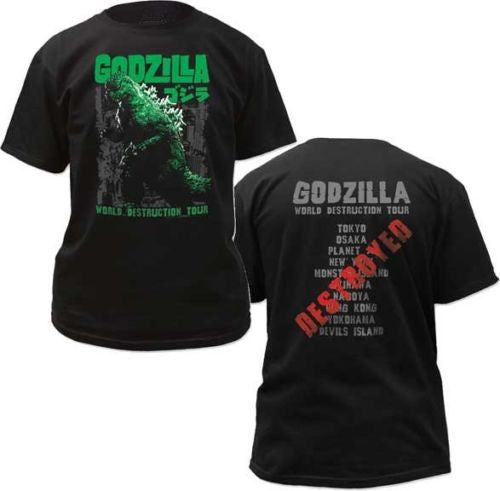 Godzilla World Destruction Tour T-shirt