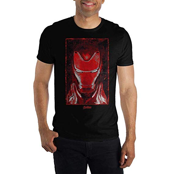 Marvel Avengers Iron Man Shirt Short Sleeve
