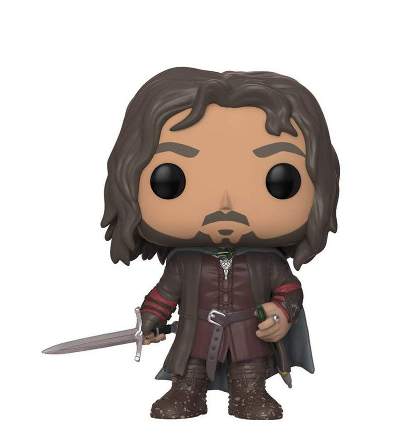 Funko Pop Movies: Lord of the Rings-Aragorn Collectible Figure