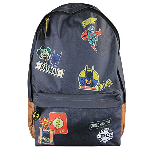 Officially Licensed DC Comics Superheroes and Villains Backpack