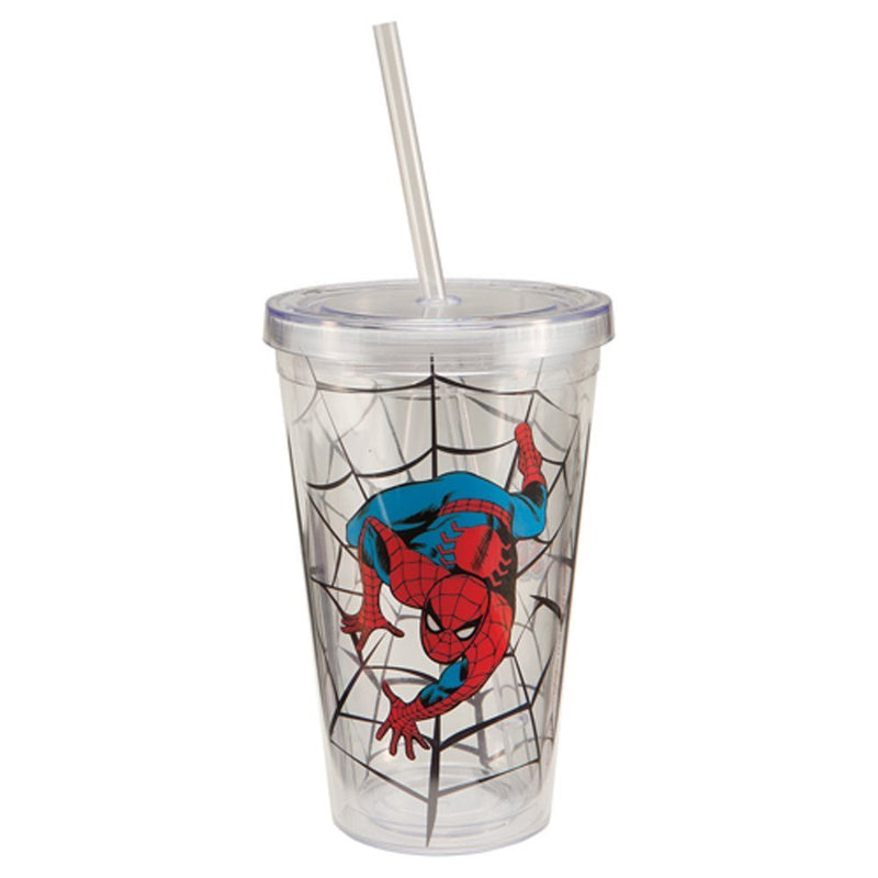 Marvel the Amazing Spider-man Straw Cup - Kryptonite Character Store