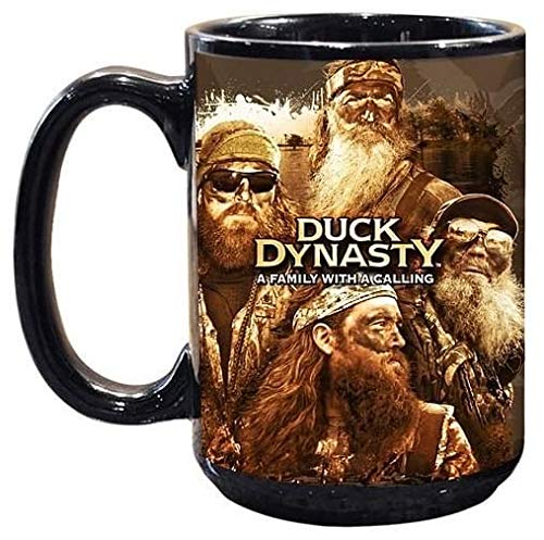 Duck Dynasty Family with A Calling 15oz. Mug - Kryptonite Character Store
