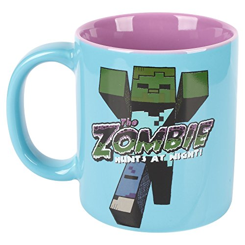 Minecraft Zombie 11oz. Ceramic Mug - Kryptonite Character Store