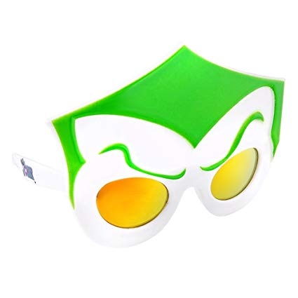 DC Comics Joker - Kids Sunglasses Costume - Kryptonite Character Store