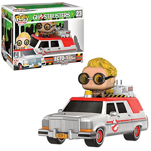 Funko POP Rides: Ghostbusters 2016 - Ecto-1 Action Figure with Jillian Holtzmann - Kryptonite Character Store