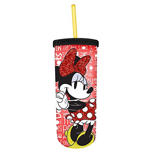 Disney Minney Mouse 20oz. Straw Cup - Kryptonite Character Store