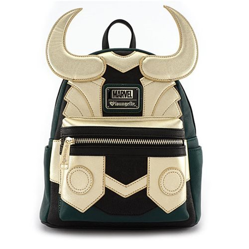 Loungefly X Marvel Loki Mini-Backpack