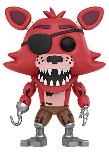 Funko Five Nights at Freddy's - Foxy The Pirate Toy Figure - Kryptonite Character Store