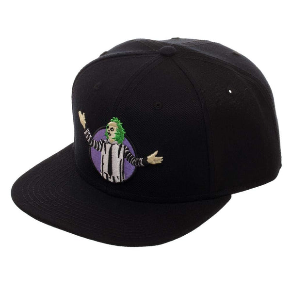 Bioworld Beetlejuice Acrylic Wool Snapback Hat - Kryptonite Character Store