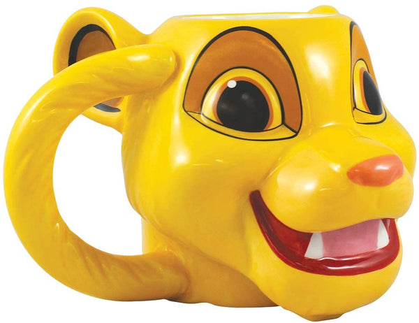 Disney The Lion King Simba Sculpted Ceramic 16 oz Mug