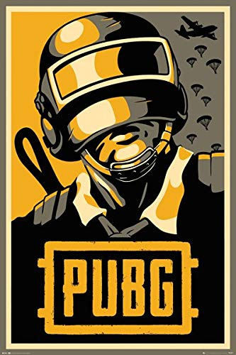 "Playerunknown's Battlegrounds ""Hope Propaganda"" Poster - Kryptonite Character Store"
