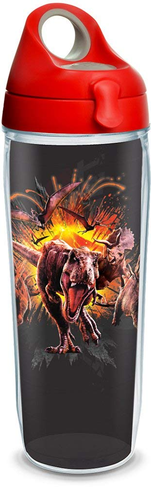 "Jurassic World ""Escape the Island"" 24 oz. Tervis Water Bottle"