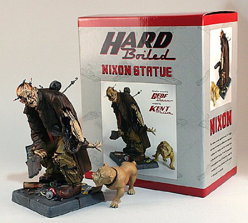 Hard Boiled Statue: Nixon - Kryptonite Character Store