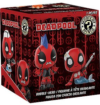Funko Minis: Marvel-Deadpool Playtime (One Mystery Figure) Collectible - Kryptonite Character Store