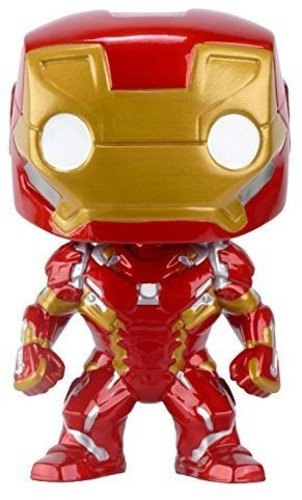 Funko POP Marvel: Captain America 3: Civil War Action Figure - Iron Man - Kryptonite Character Store
