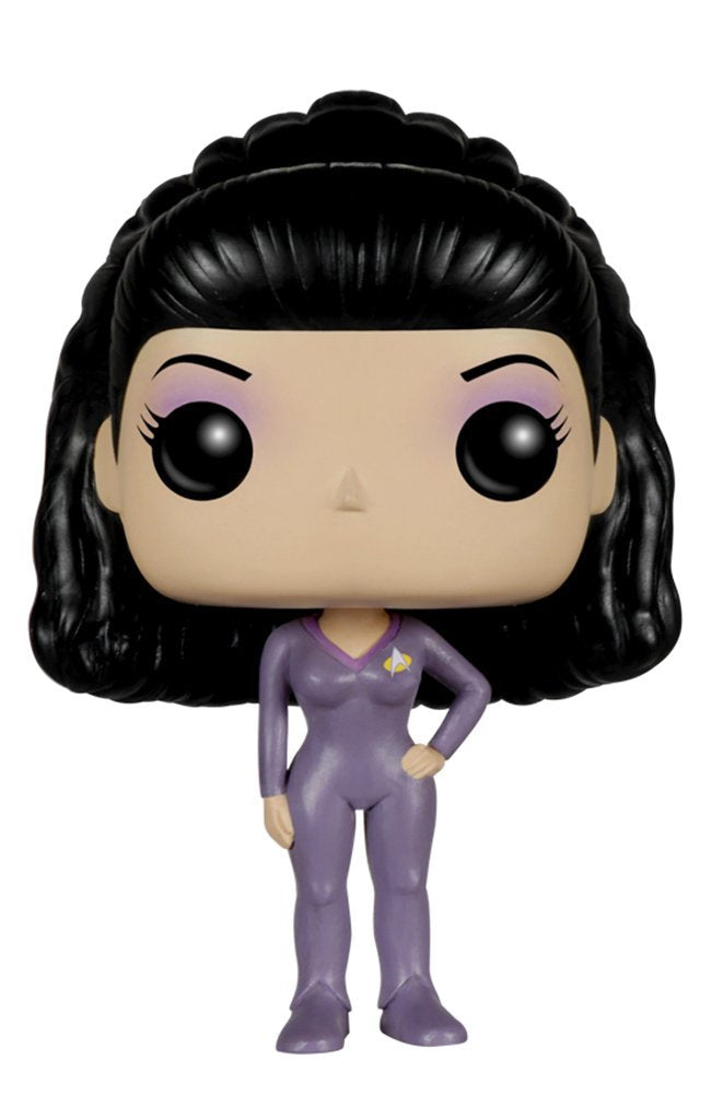 Funko POP TV: Star Trek The Next Generation - Deanna Troi Action Figure - Kryptonite Character Store