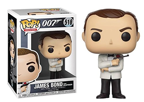 Funko POP Movies James Bond 007 Character Toy Action Figures - Kryptonite Character Store