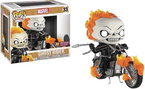 Funko Pop Rides: Marvel Classic Ghost Rider with Bike Vinyl Figure