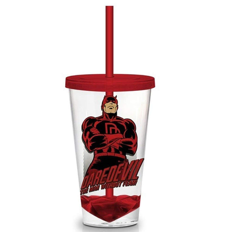 Daredevil Straw Tumbler - Kryptonite Character Store