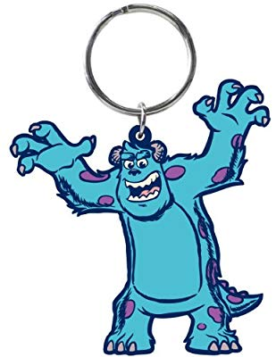 Monster Sulley PVC Soft Keychain - Kryptonite Character Store