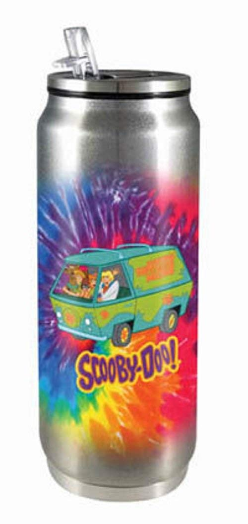 Spoontiques Scooby Doo Stainless Beverage Can, Multicolor