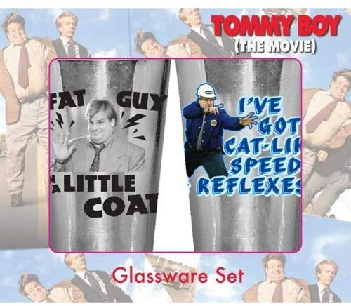 Tommy Boy Phrases 2 Pack Pint Glass Set - Kryptonite Character Store