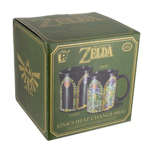 The Legend of Zelda - Links Heat Changing Mug - Kryptonite Character Store