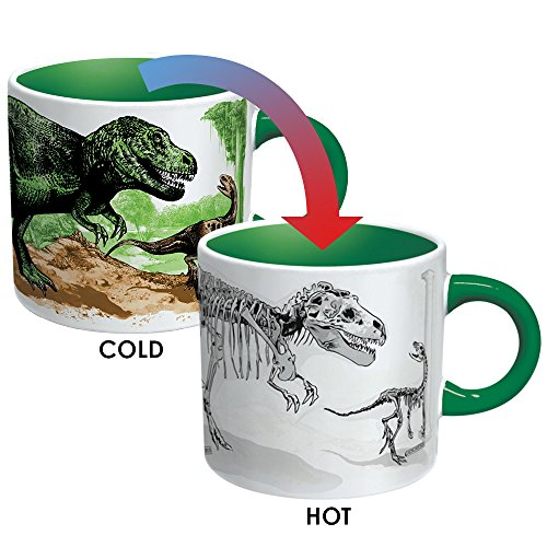Dino Heat Changing Disappearing 12oz. Mug - Kryptonite Character Store