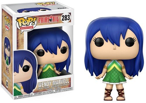Funko Pop Anime: Fairy Tail Wendy Marvell Collectible Vinyl Figure - Kryptonite Character Store