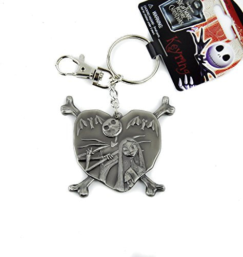 Disney Jack and Sally Nightmare Before Christmas Keychain Skellington - Kryptonite Character Store