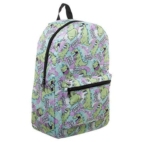 Rugrats Reptar 90s Backpack - Kryptonite Character Store
