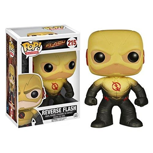 Funko POP! Reverse Flash - TV Series Stylized Vinyl Figure DC Villain 215 NEW /ITEM#G839GJ UY-W8EHF3194697 - Kryptonite Character Store