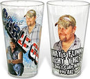 Larry the Cable Guy 2 Piece Glass Set - Kryptonite Character Store