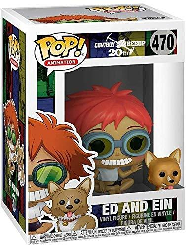 Cowboy Bebop - Edward & EIN - POP Animation Vinyl Figure - Kryptonite Character Store