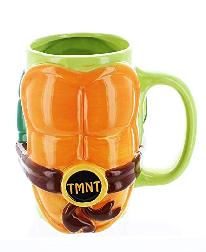 TMNT Muscles Ceramic Coffee Mug