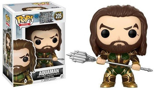 Justice League Aquaman - POP! Figure - Kryptonite Character Store