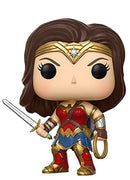 Funko POP! Movies: DC Justice League - Wonder Woman Toy Figure - Kryptonite Character Store