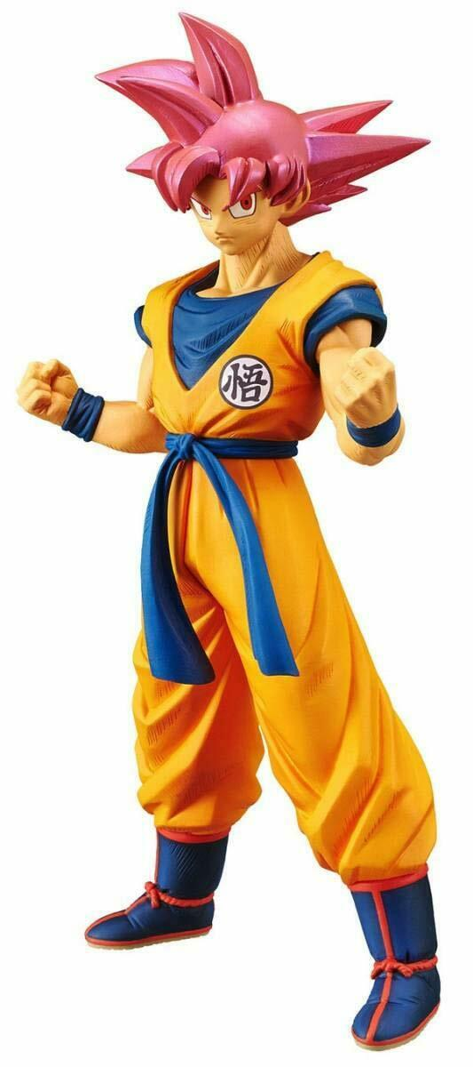 "Dragon Ball Z Cyokoku Buyuden Collection SSG Son Goku 8.4"" Collectible PVC Figure"