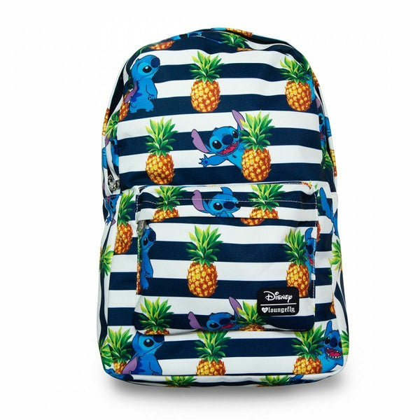 Loungefly x Disney Lilo & Stitch Pineapple Striped Backpack