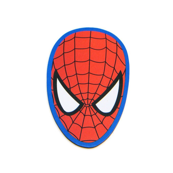 Marvel Spider-Man Holographic Face Car Magnet - Kryptonite Character Store
