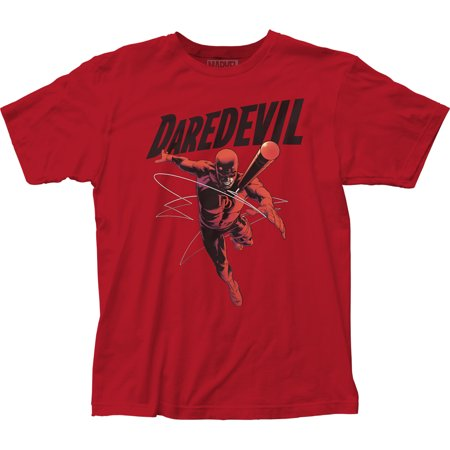 Marvel Comics - Daredevil Comic Book Adult Fitted  T-Shirt