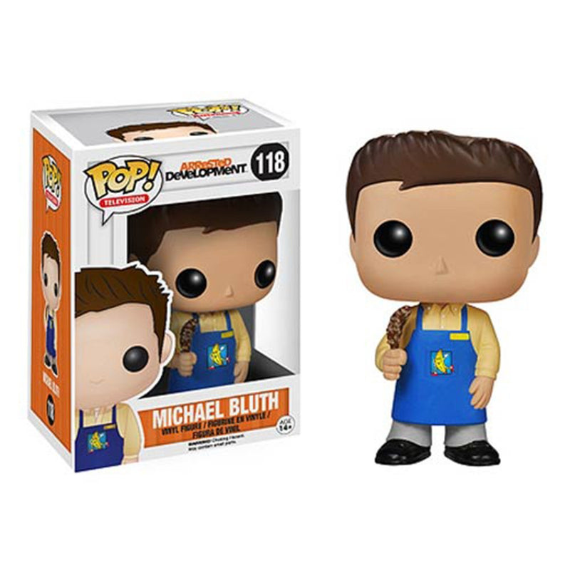 Funko POP Television: Arrested Development Michael Bluth Banana Stand Vinyl Bobble Head - Kryptonite Character Store
