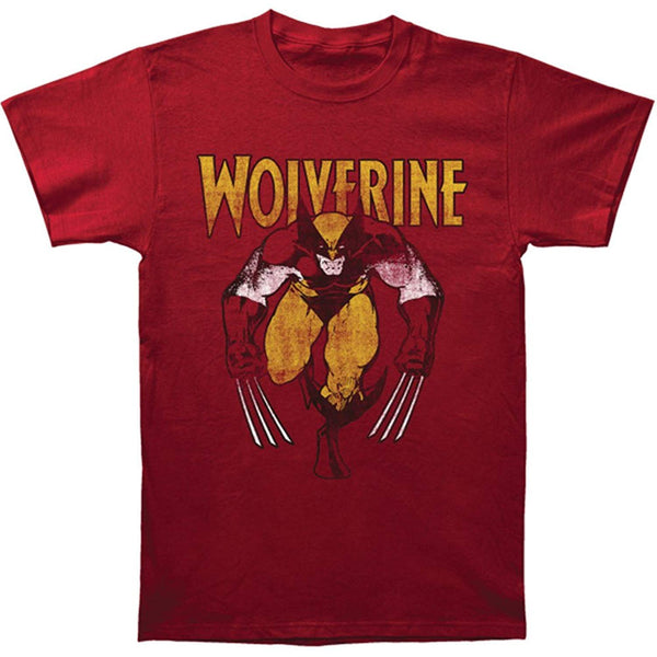 Marvel X-men Wolverine Logan Adult T-shirt