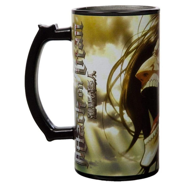 Attack on Titan Eren Yeager Beer Mug - Kryptonite Character Store