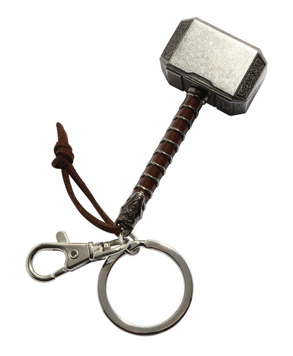Thor Ragnarok Movie: Thor Hammer Pewter Keychain - Kryptonite Character Store