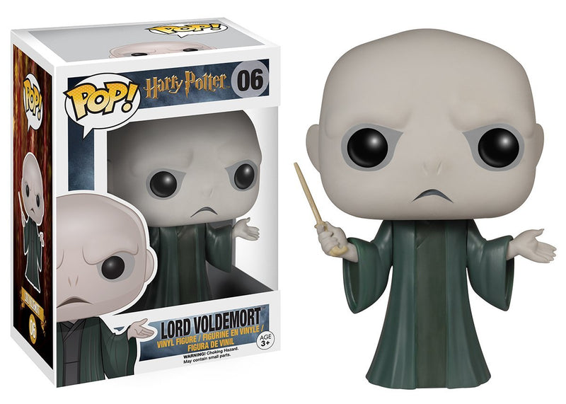 Funko POP Movies: Harry Potter - Voldemort Action Figure