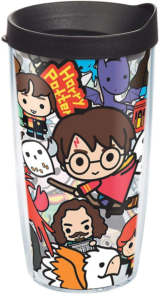 "Harry Potter  ""Group Charms"" 16 oz. Tervis Tumbler- Kryptonite Character Store"