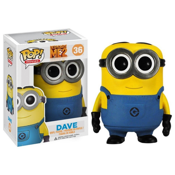 Funko POP Movies Despicable Me: Dave Vinyl Figure - Kryptonite Character Store